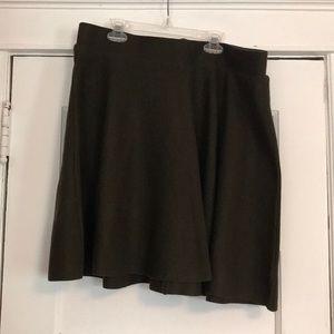 NWT Plus Size Skater Skirt